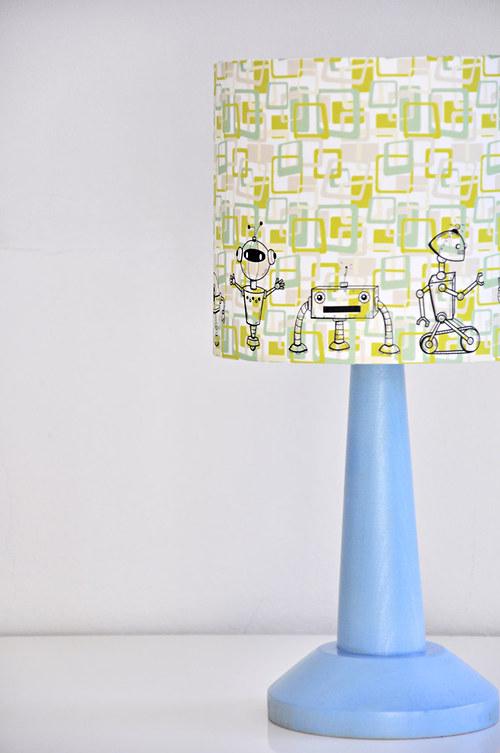 Stínítko dětské Roboti 20 cm - stolní/stropní
