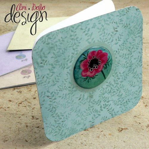 Luxury card - Anemone