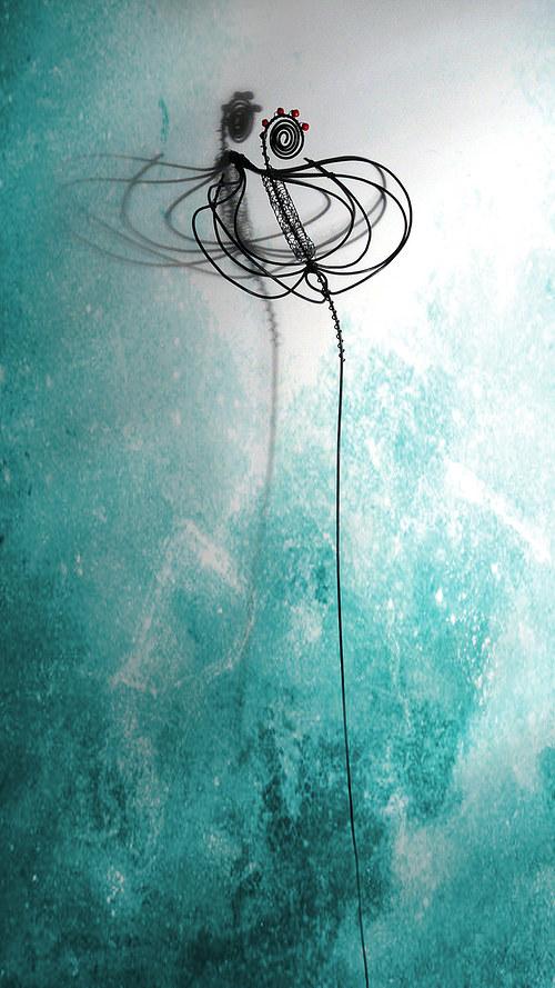 Kala- květina zápich