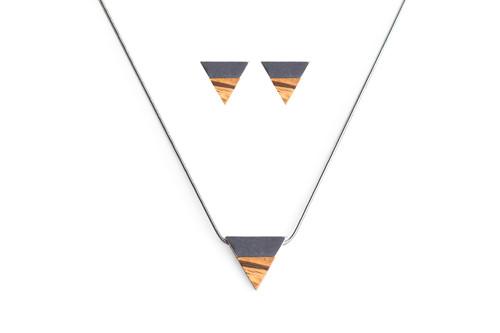 APIS set Earrings & Necklace