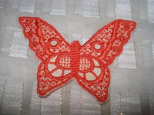 Nášivky motýlků