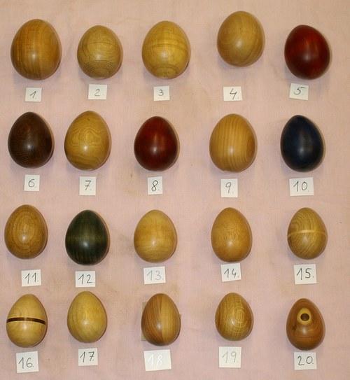 Vejce dřevěná