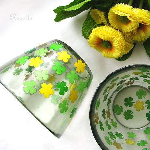 Těšení na jaro - sklenka / pohár