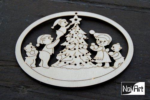 Vianočná mackova rodinka