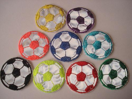 Reflexní nášivky fotbalový míč