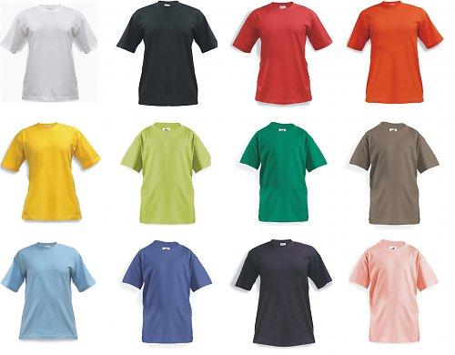 Dětské tričko - různé barvy, 4,6,8,10 let