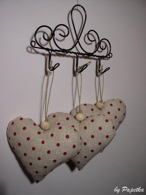 Srdéčko dekorační