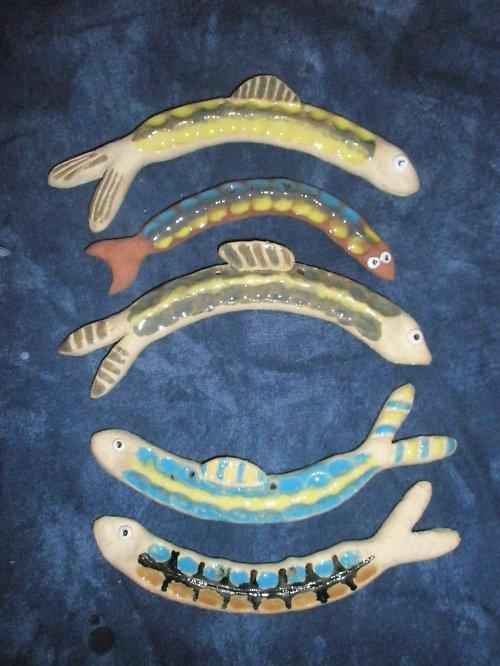 Rybky závěsné..akce!!! 3+1 zdarma!