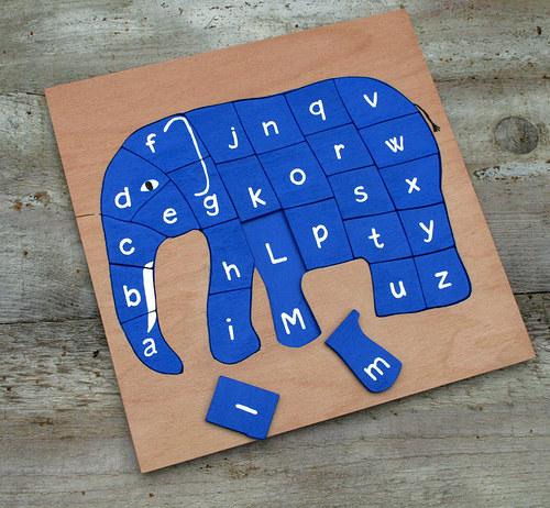 písmenkový slon