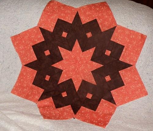 Hvězda - online kurz patchworku