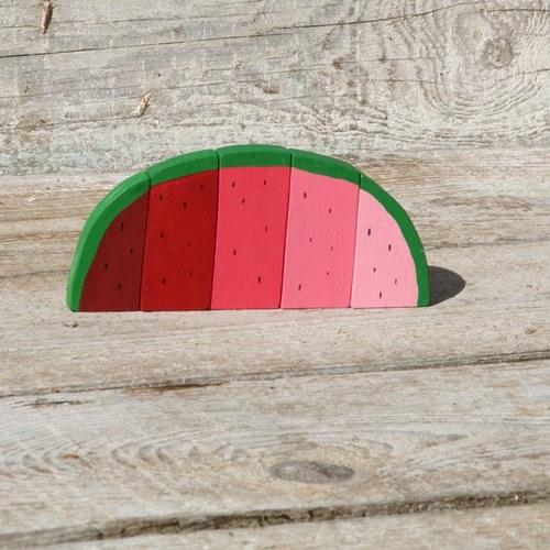 Meloun už nakrájený
