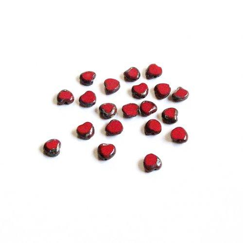 Korálky 8 mm, 20 ks ramš II. jakost