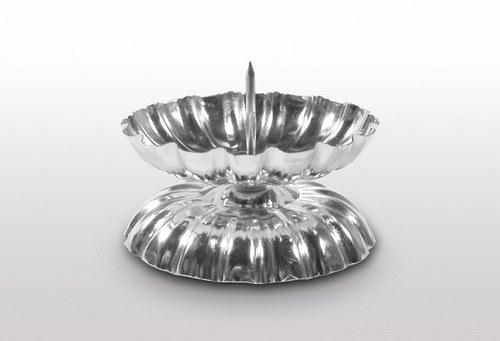Bodec stolní - stříbrný