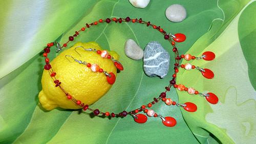 Souprava Pomerančové květy