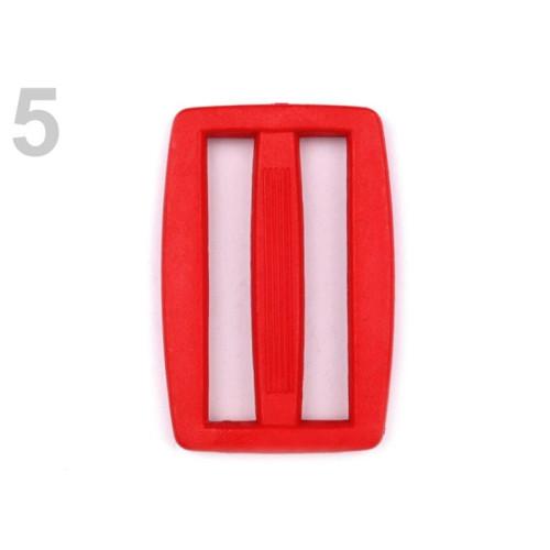 Průvlek š. 37 mm (10ks) - červená