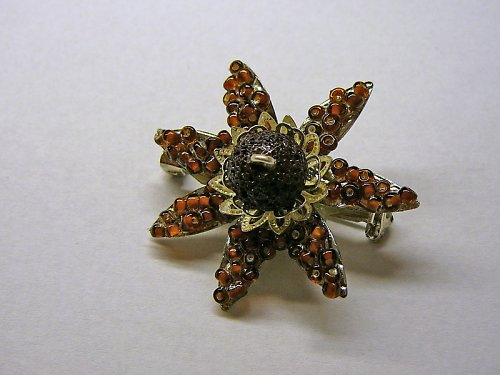 Brož květinka  SLEVA