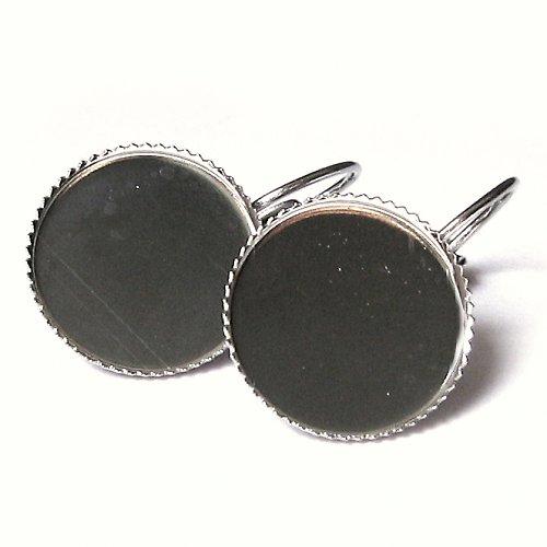 Visací naušnice - kruh 16 mm - 1 pár