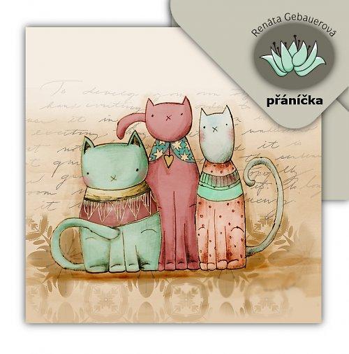 Přání Kočičí trio