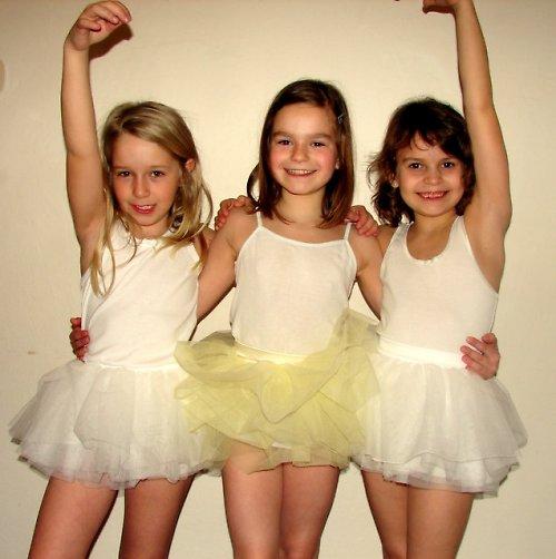 Baletní sukně bílá (3-6 let)
