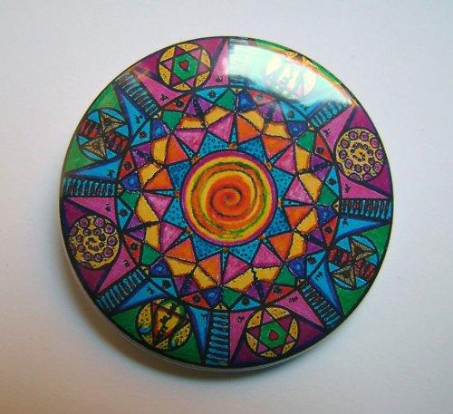 MANDALA 13 - placka - button - 44 mm
