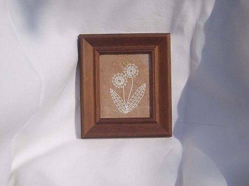 Paličkovaná miniatura - kytičky