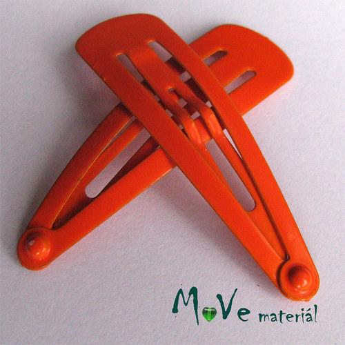 Prolamovačka - spona do vlasů, 2ks oranžová
