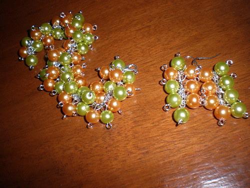Oranžovozelená