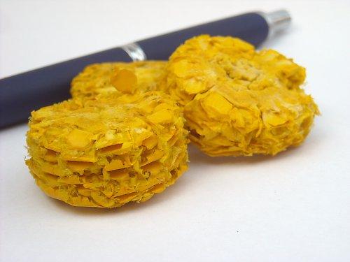 Buta plátky - žlutá