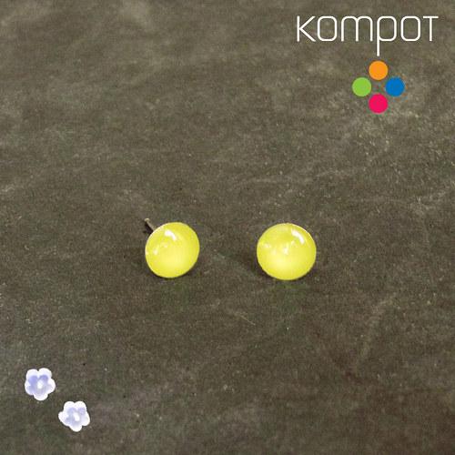 KAPKY :: neonově žluté