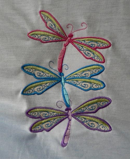 Tričko/šaty Love+vážky