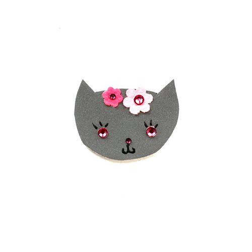 Reflexní brož kočička Bětuška