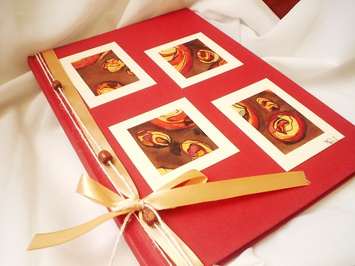 Červená vášeň, A4, 80 listů :-) :-) :-)