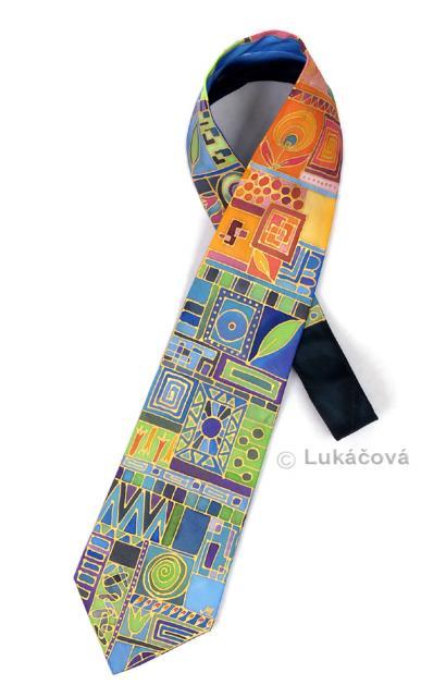 Hedvábná kravata pro odvážné