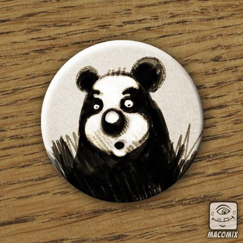 Panda - placka