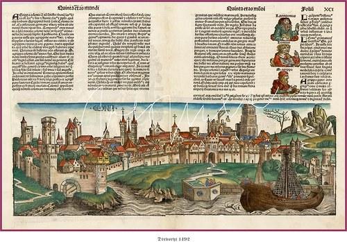 Evropská města v 15. století I