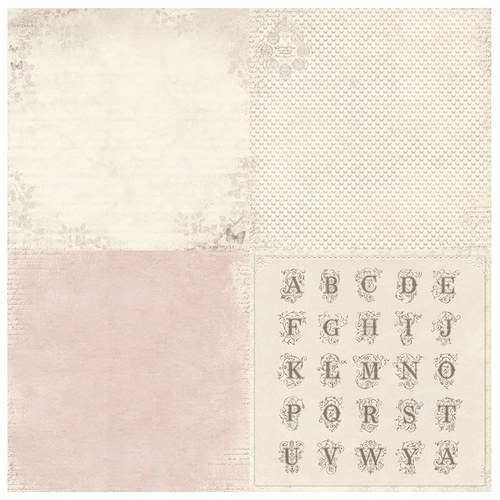 Scrapbookový papír Pion Design - Pink butterfly