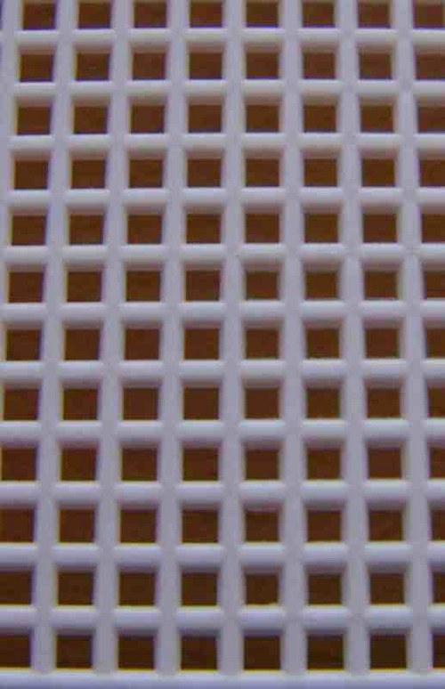 Plastová kanava I - světle růžová