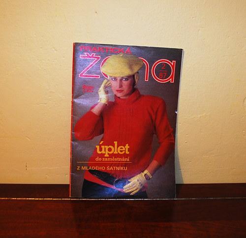 Časopis Praktická žena 1987