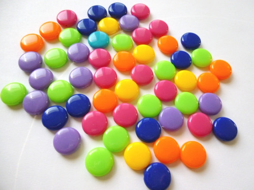 Lesklé lentilky mix barev č. 2 10 ks 12kč