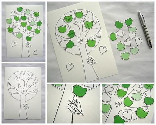 Svatební strom- netradiční kniha hostů