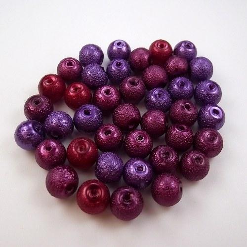 Voskovy - vínová směs barev - 40 ks