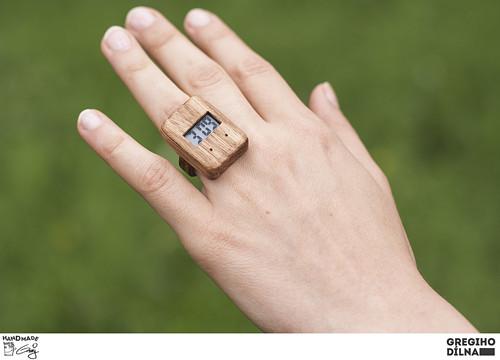 Prsten s hodinkami