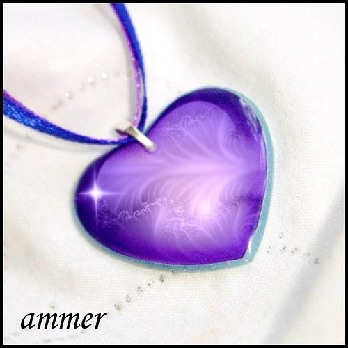 Srdíčko fialové