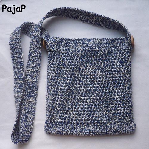 Háčkovaná kabelka:)