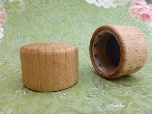 exkluzivní dřevěný uzávěr
