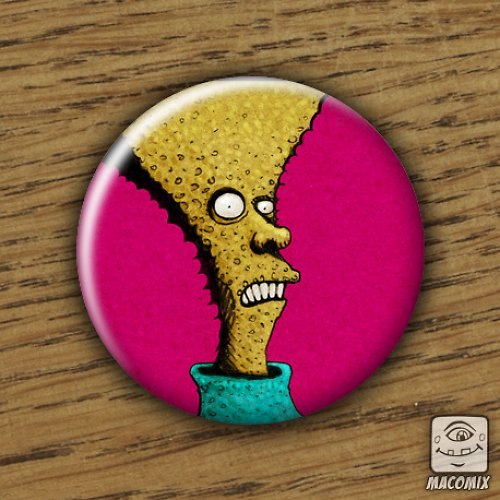 Mr. Head - placka