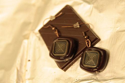 Carré de chocolat / Čtvereček čekulády