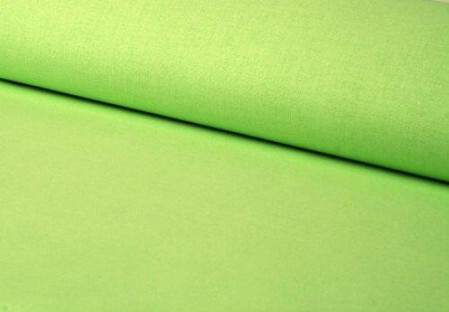 Látka jednobarevná limetková ATEST DĚTI, á 0,5m