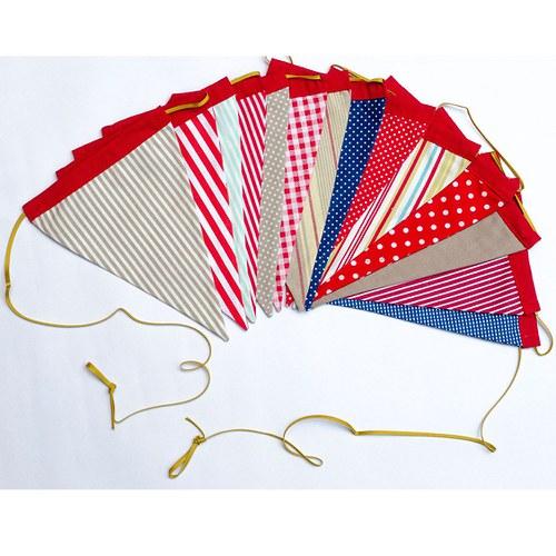 Námořnická vlaječková girlanda - vyberte si svoji