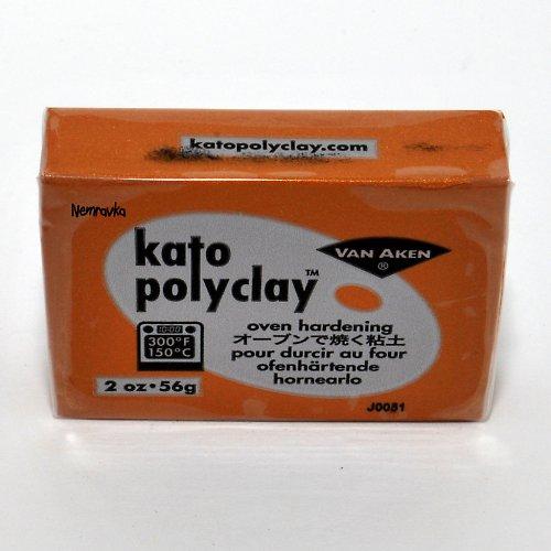 Kato Polyclay / profi polymerová hmota / Zlatá